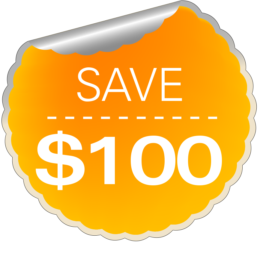 Save $100 on summer classes