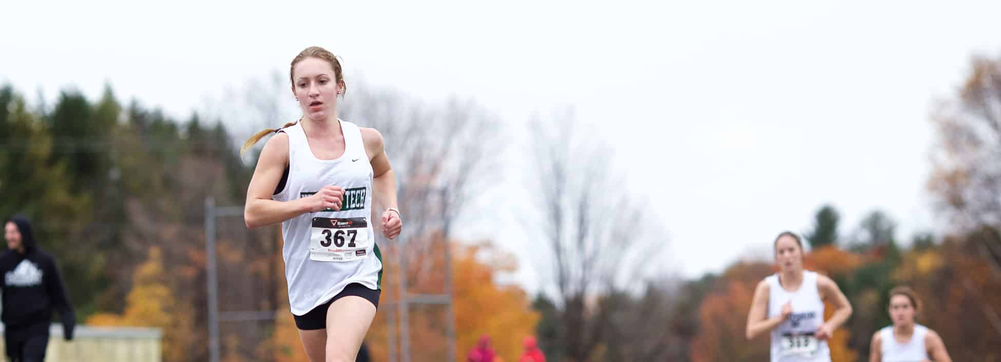 cross country, running, athletics, knights, Rebecca Broadbent, USCAA nationals