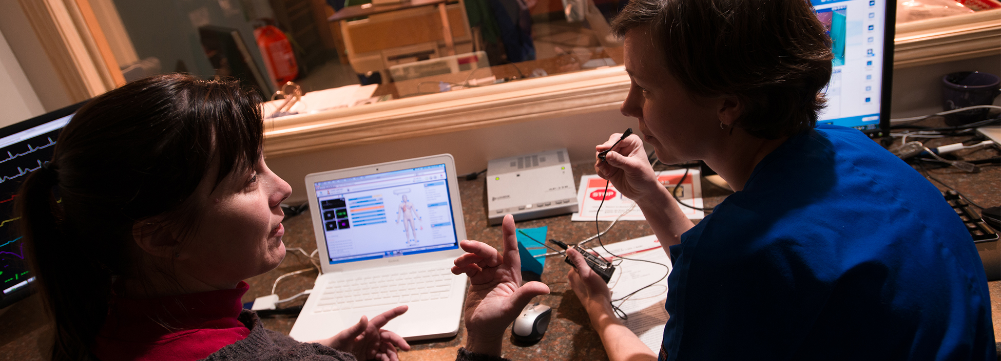 Our nursing Simulation Laboratory located on the Wiliston campus