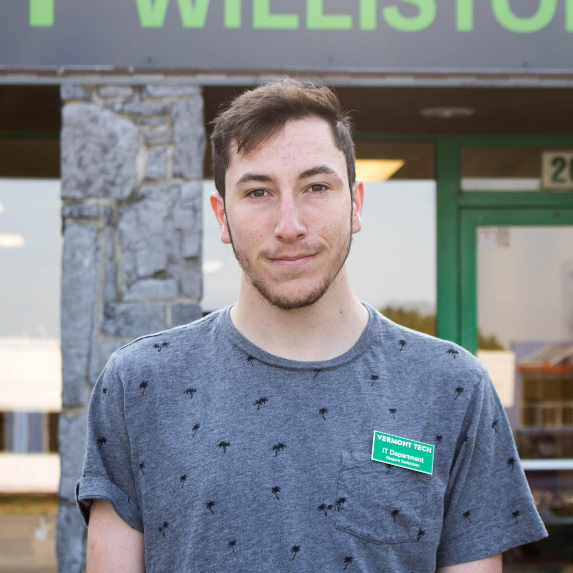 Kiernan Canavan, student at Williston Campus