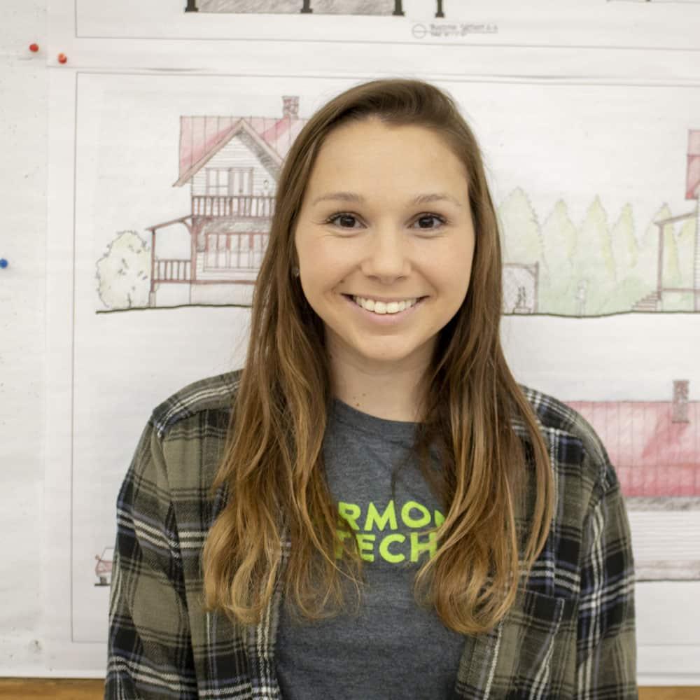 Jennifer Grenier, student, architectural engineering