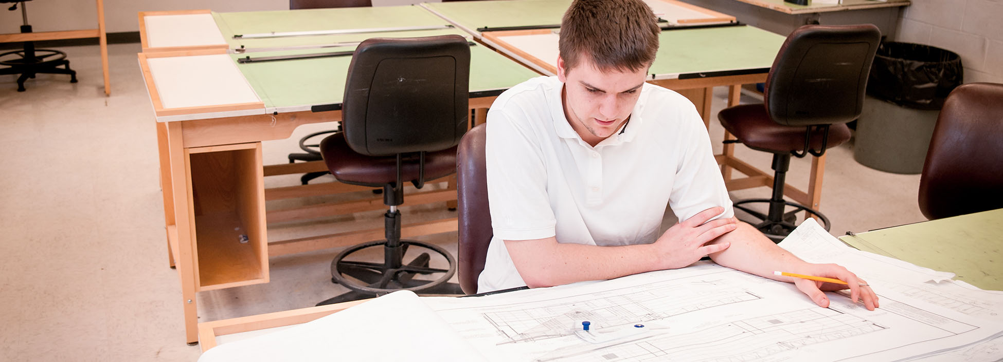 Caleb Bristol, student, architectural engineering