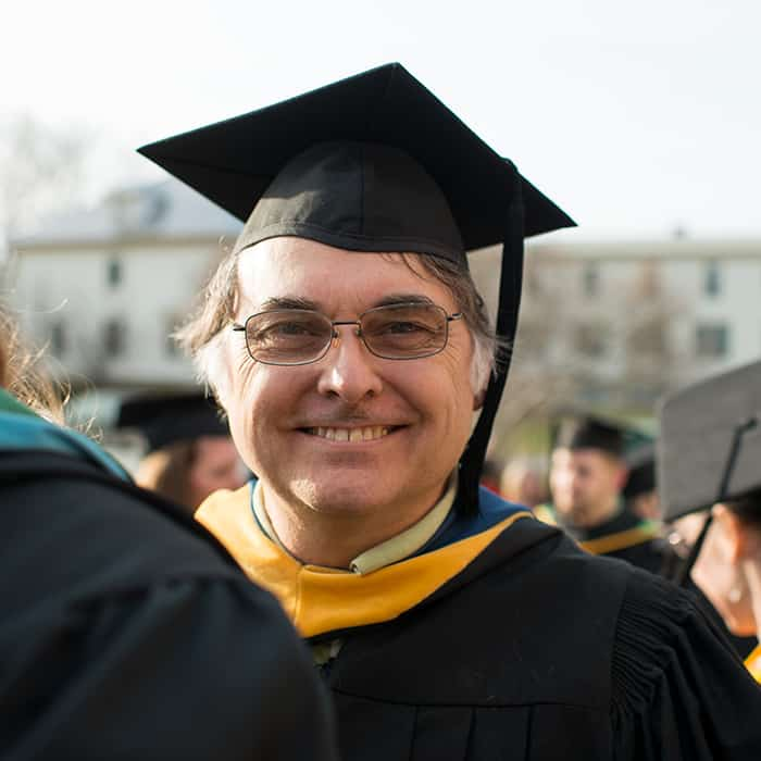 Andre St. Denis, faculty member, electrical