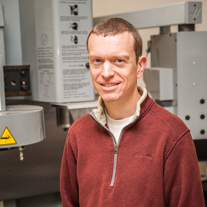 Jeremy Cornwall, faculty, mechanical engineering