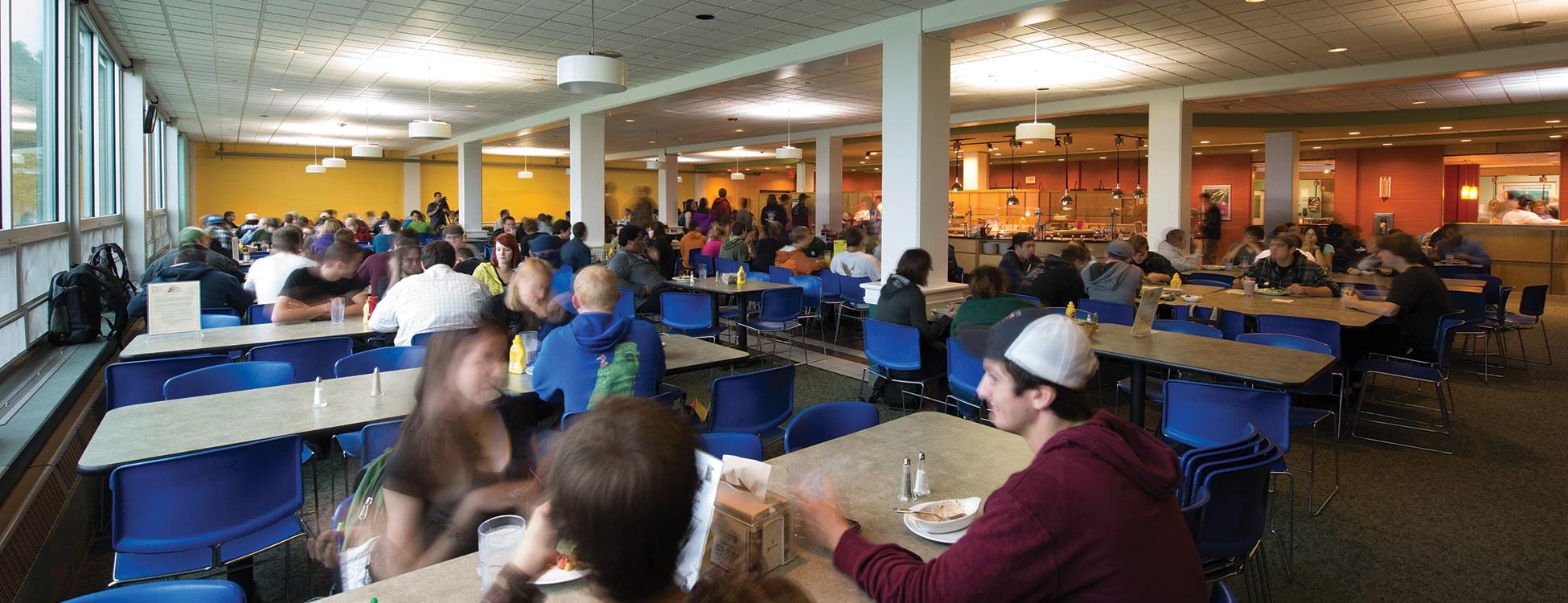 Morey dining hall, Randolph Center campus