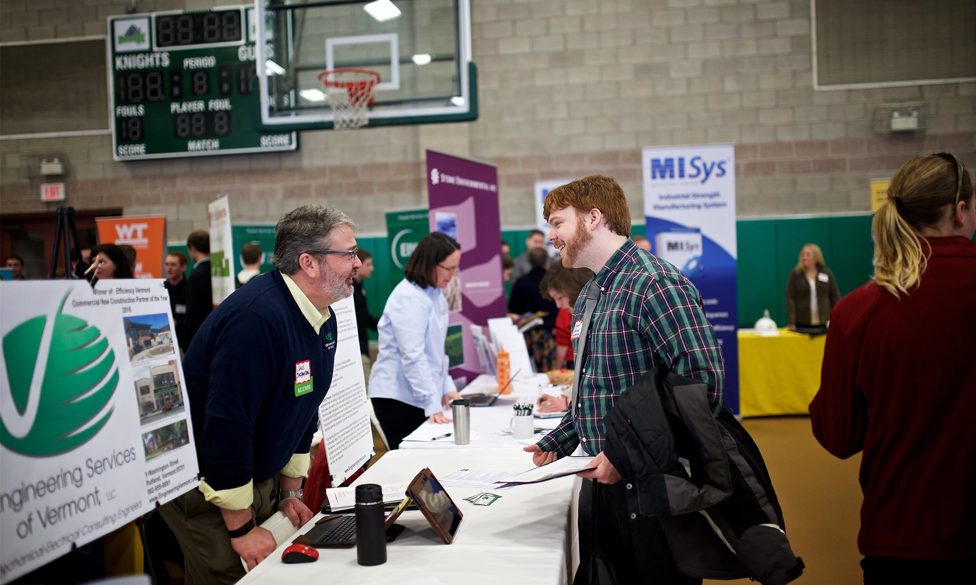 Career Fair, Randolph Center campus, jobs, placement