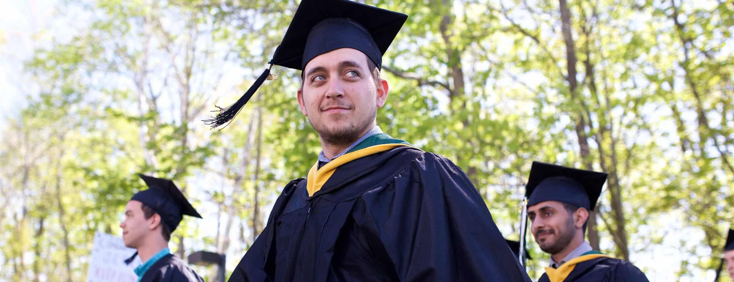 commencement, graduation, 98% placement rate, congratulations