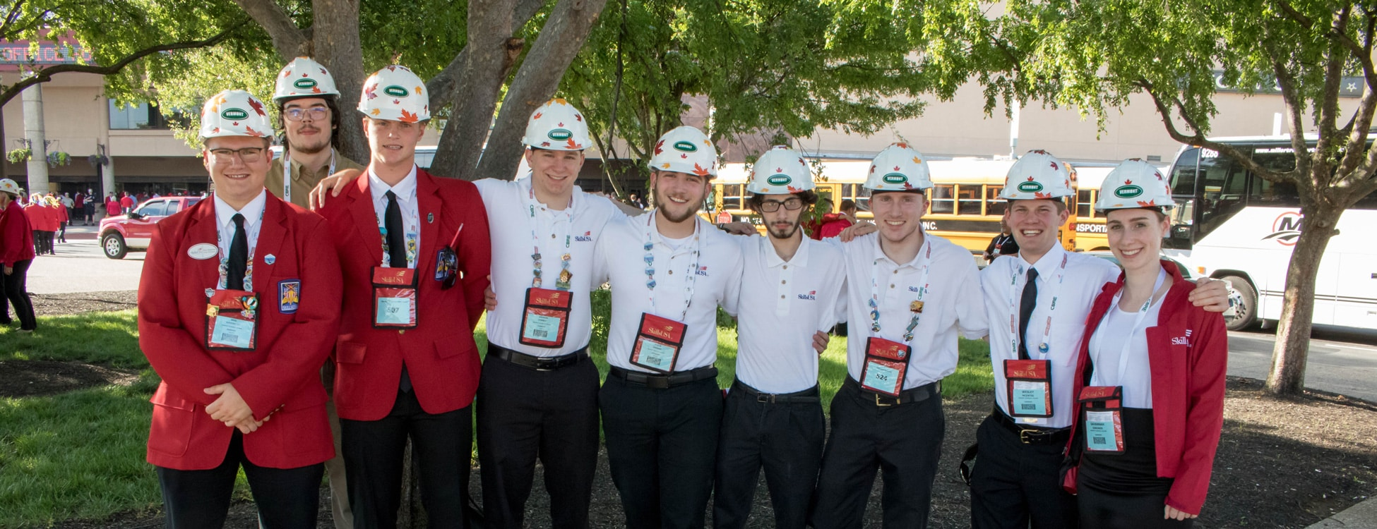 SkillsUSA, student winners at national competition, bronze metal