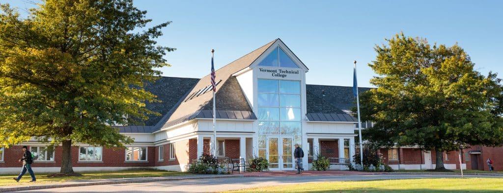 Administration building, Randolph Center campus