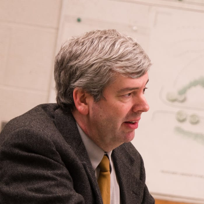 Brad Miller, faculty member, architectural
