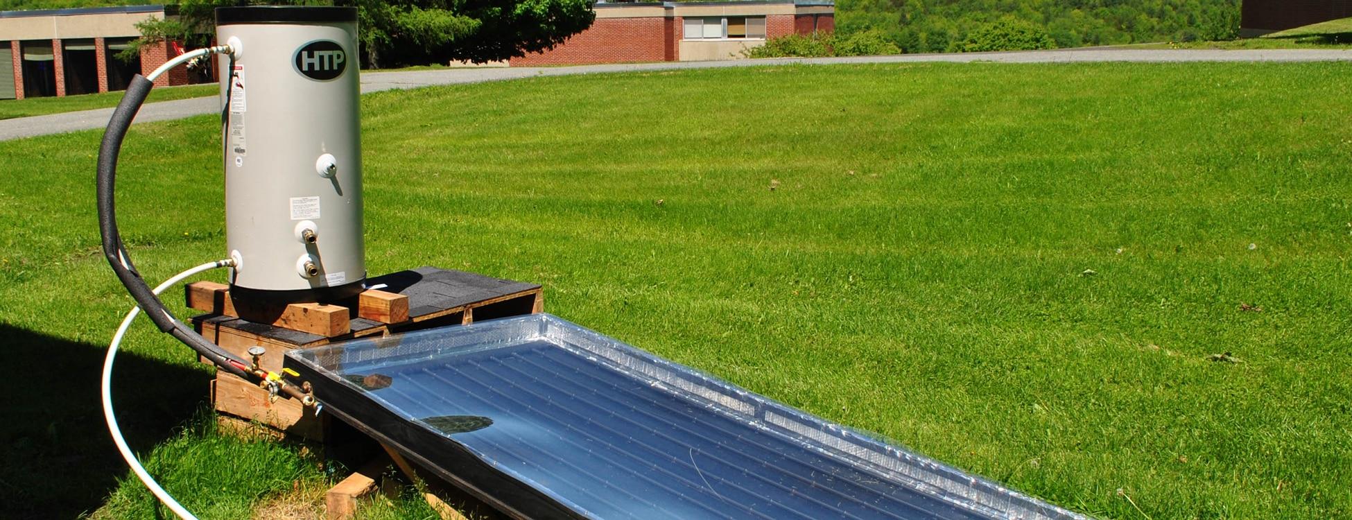 renewable energy, student trip, tanzania, hot water