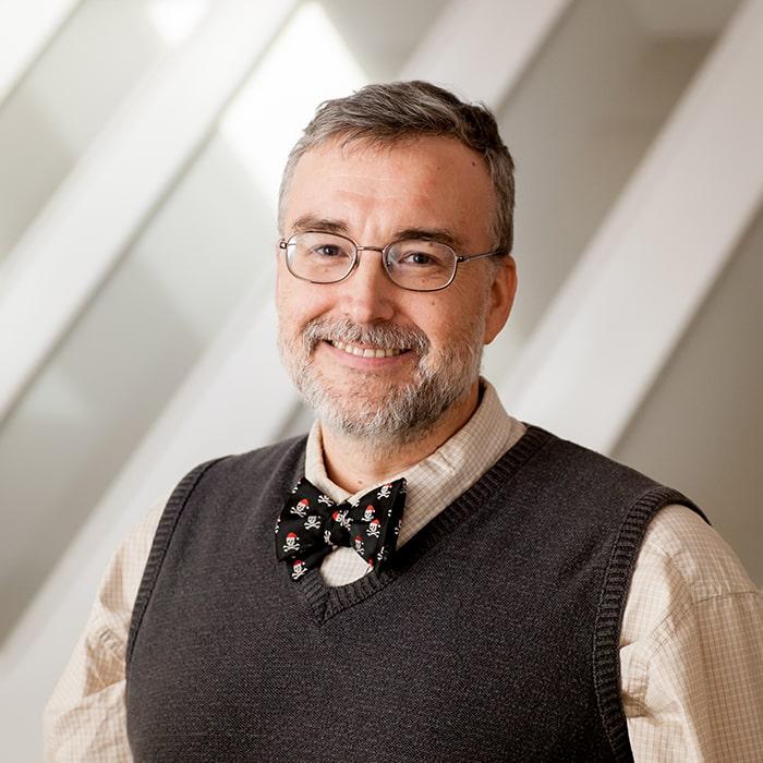 Jack Skoda, faculty member, computer