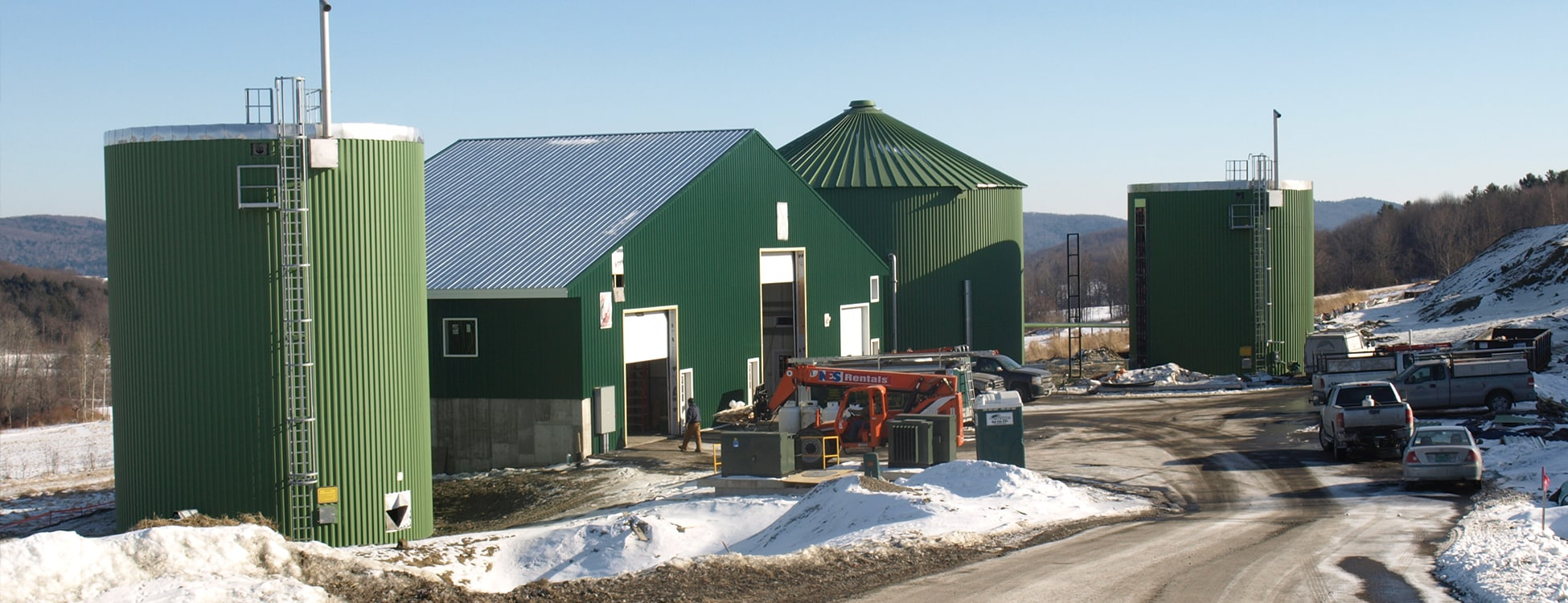 digester, Randolph Center campus, renewable energy