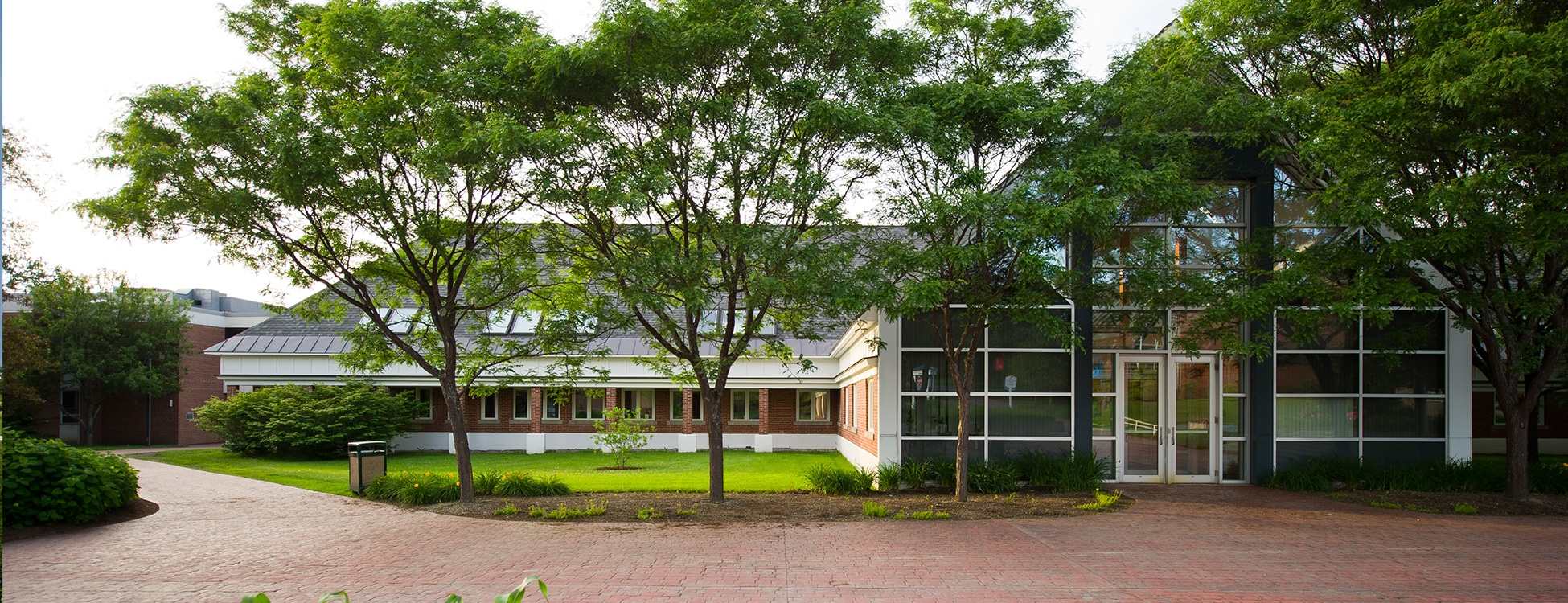 Vermont Tech, Administration building, plaza, walkway, Randolph Center campus