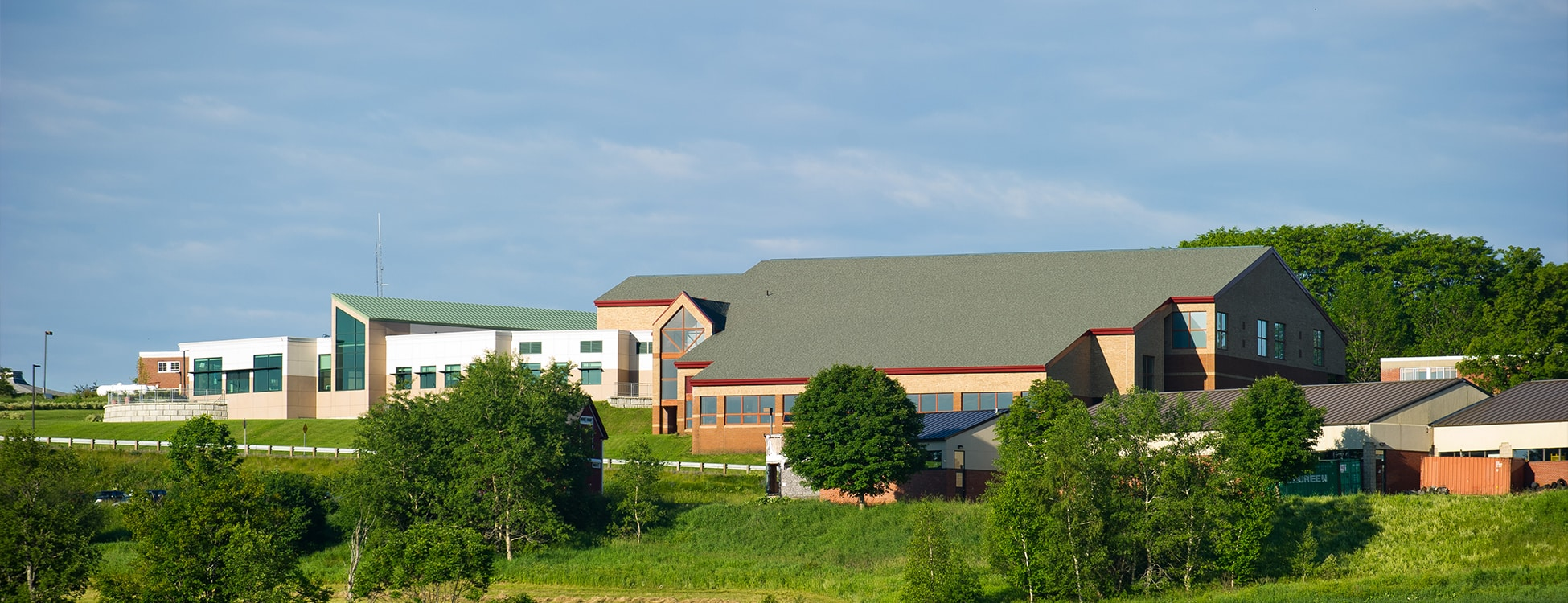 SHAPE building, Randolph Center campus