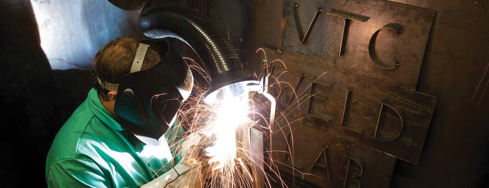 welding, student, laboratory
