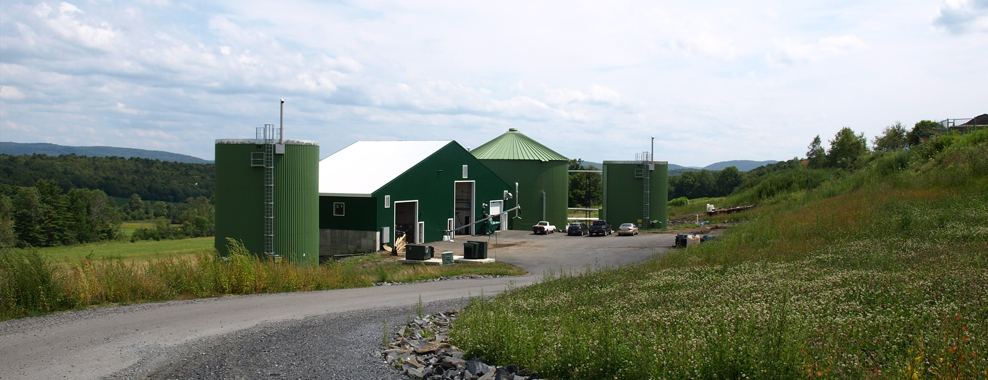 Vermont Tech digester, Randolph Center campus