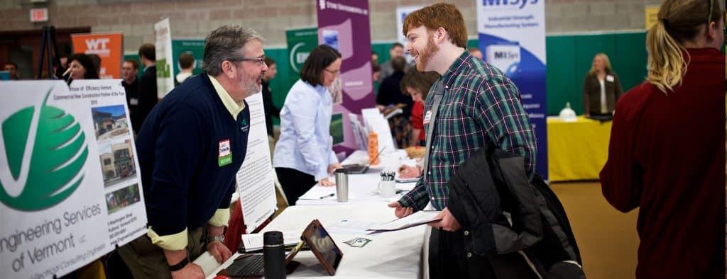 Career fair, Randolph Center campus, jobs