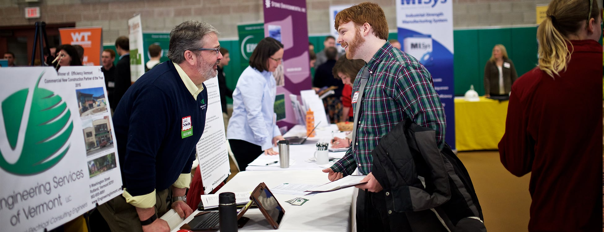 Career fair, Randolph Center campus, jobs