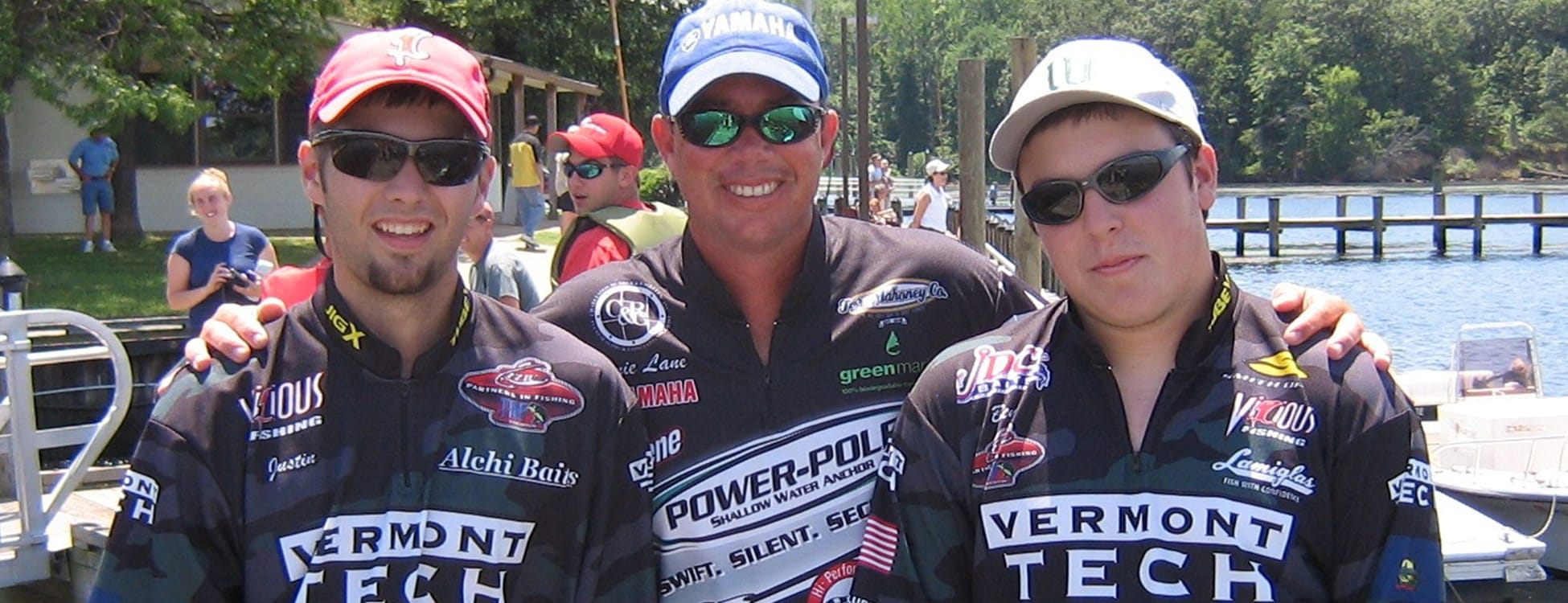 students compete in college fishing championship