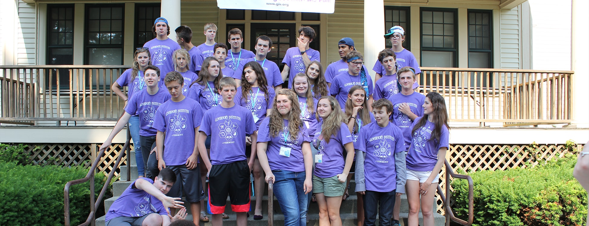 Vermont Governor's institute, entrepreneurial summer camp, male students, female students
