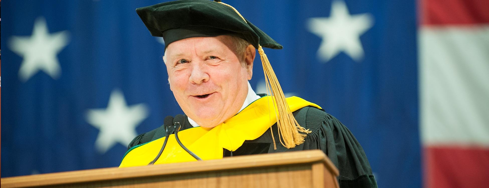 Roger Allbee, commencement speaker