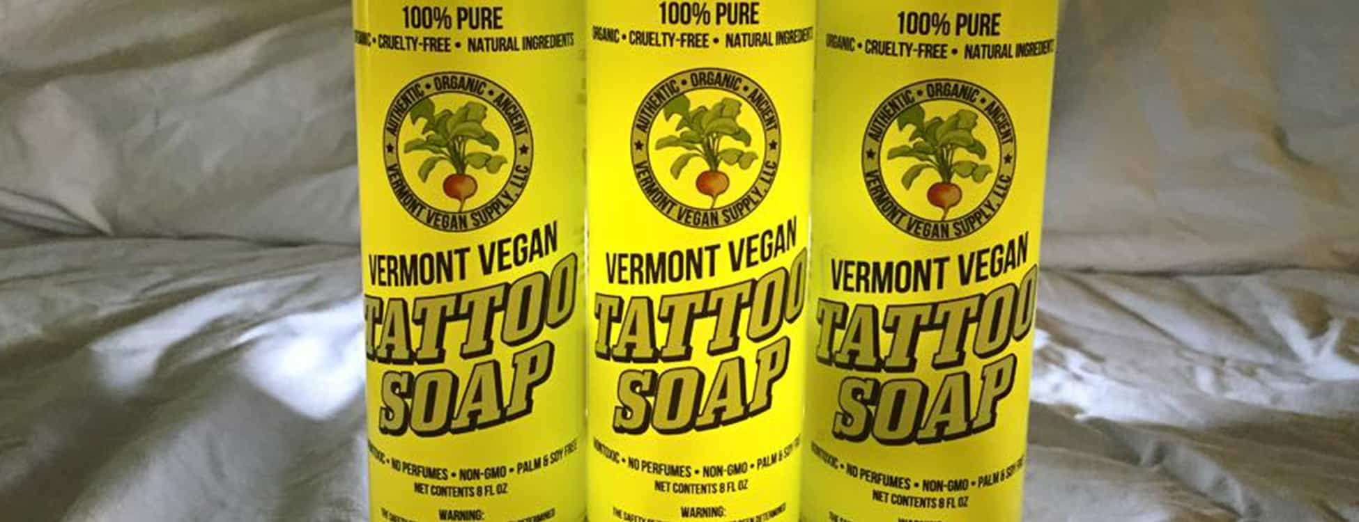 Vermont vegan tattoo soap