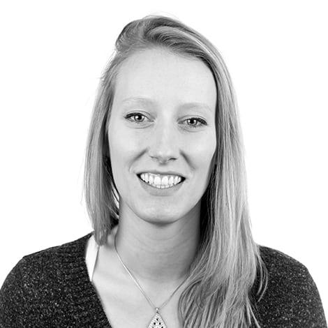 Female student, Allison Miller, smiling