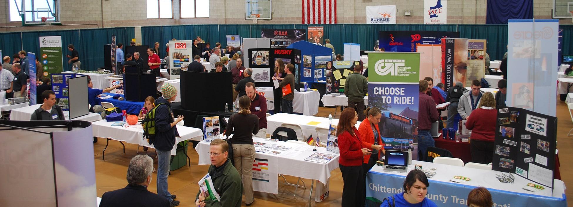 Career Fair, Randolph Center campus