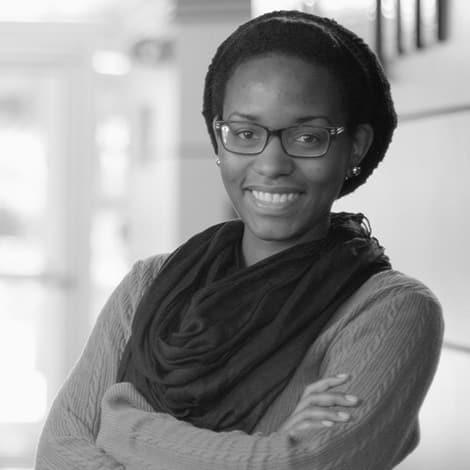 Female student, Kara Belize, smiling