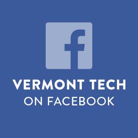 Facebook, social media icon, vermont tech