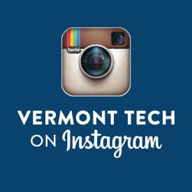 Instagram, social media icon, vermont tech