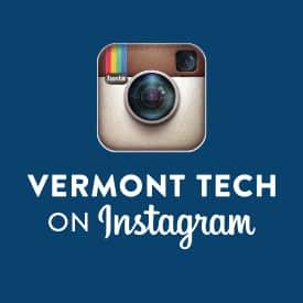 Instagram, social media icon, vermont tech