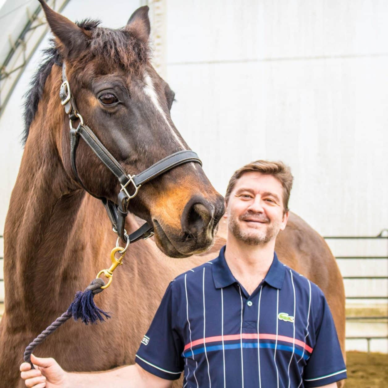 Marc Griffith, student, equine