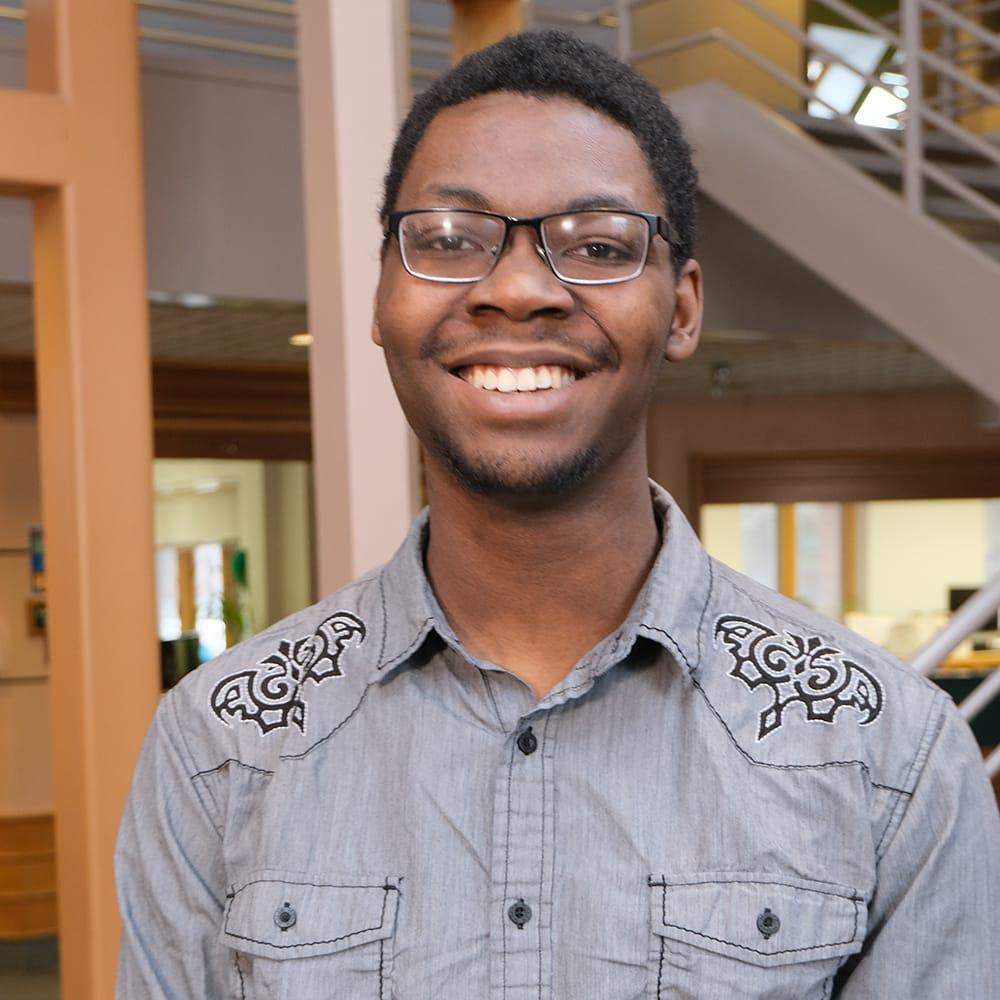 Devin Tingle, Renewable Energy student