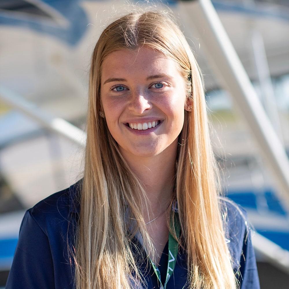 Kyra Becker, Professional Pilot Technology student