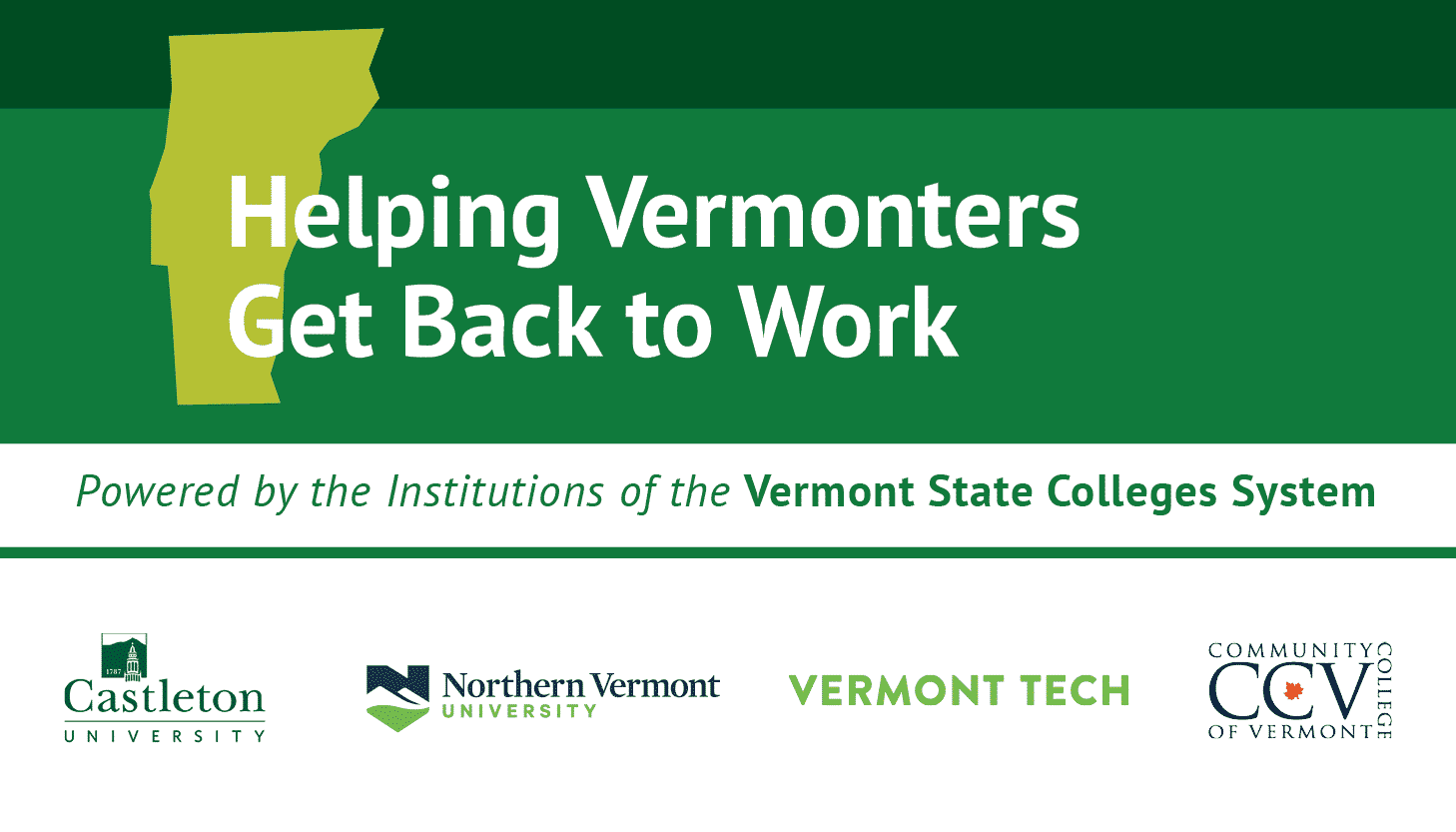 Getting Vermonters Back to Work graphic