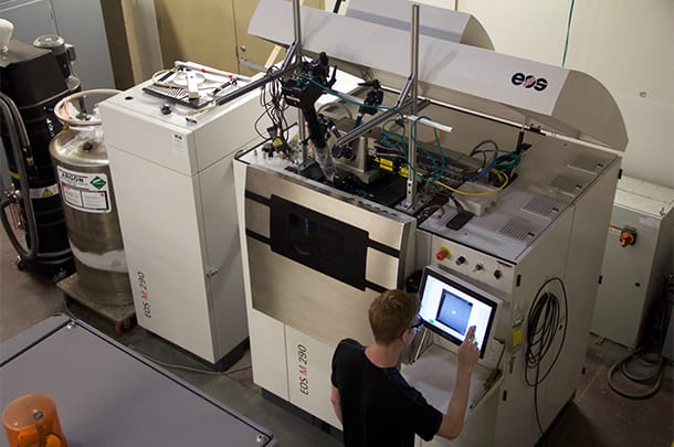 3D printer for metals